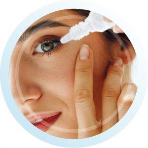 Palliative Behandlung : künstliche Tränen | Augentropfen