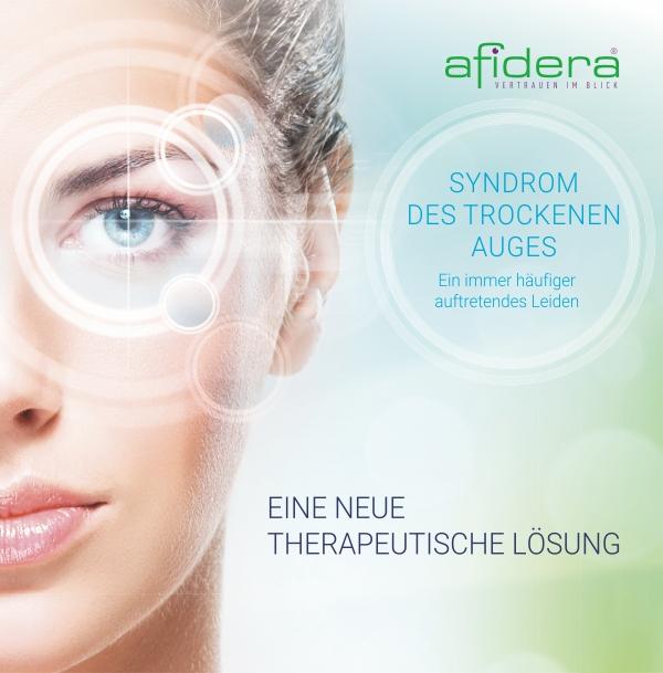 Therapeutische Augenbehandlung von Afidera