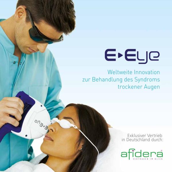 Behandlung trockener Augen mit E-Eye System